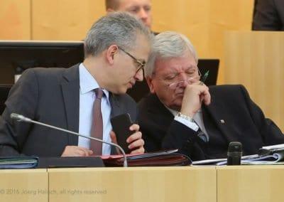 Hessischer Landtag Plenarsitzung