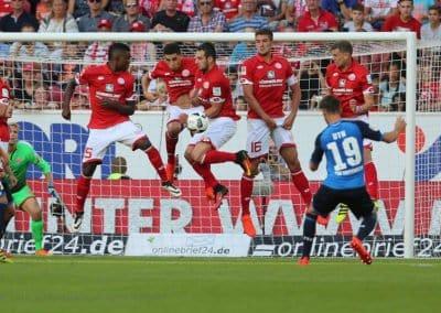 Fussball - 1. Bundesliga - 2. Spieltag - 1.FSV Mainz 05 - TSG Hoffenheim