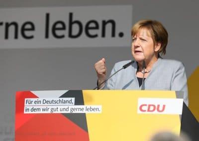 Die Kanzlerin kommt nach Mainz