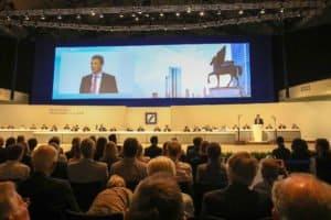 Eventfotografie, Hauptversammlung Deutsche Bank