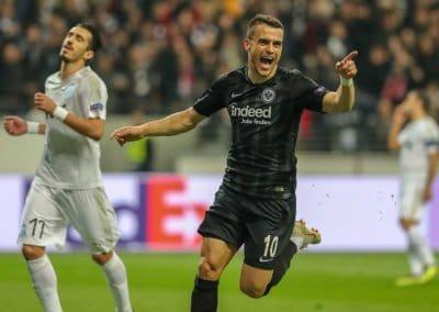Fußball - Europa League - Eintracht Frankfurt - Apollon Limassol