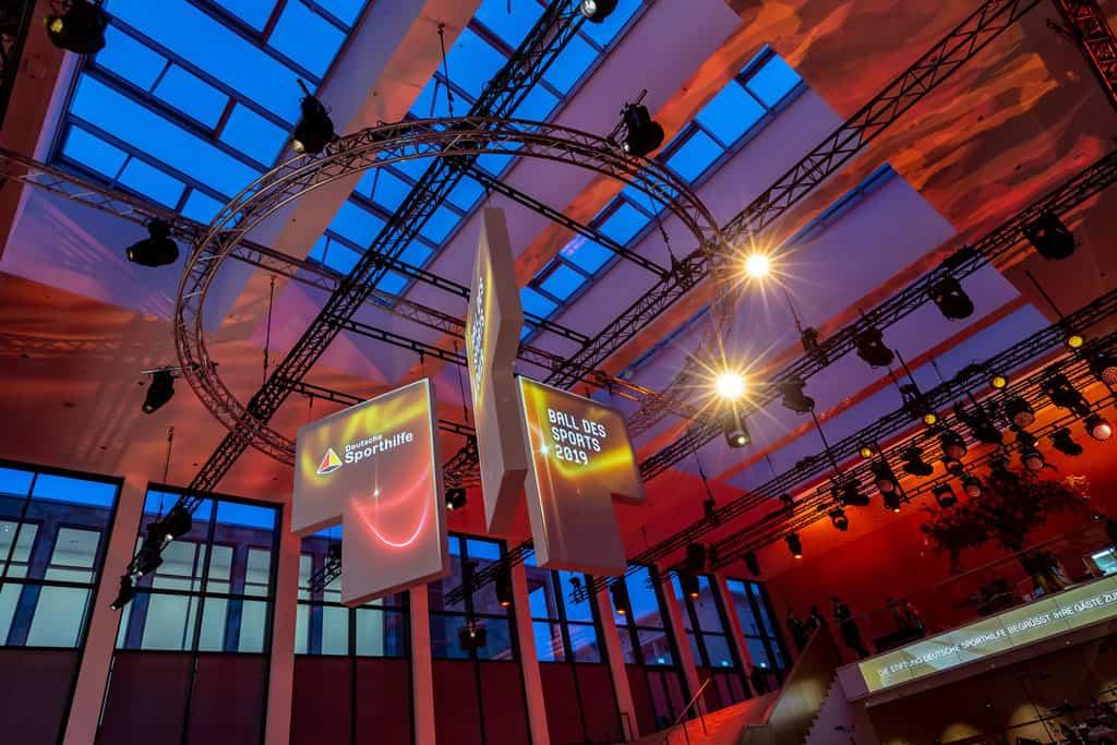 49. Ball des Sports Wiesbaden im RheinMain CongressCenter in Wiesbaden (Hessen).