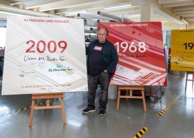 Kunstwerk zu 70 Jahre Bundesrepublik