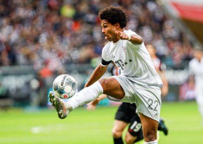 Fußball - 1. Bundesliga - 10. Spieltag - Eintracht Frankfurt - FC Bayern München